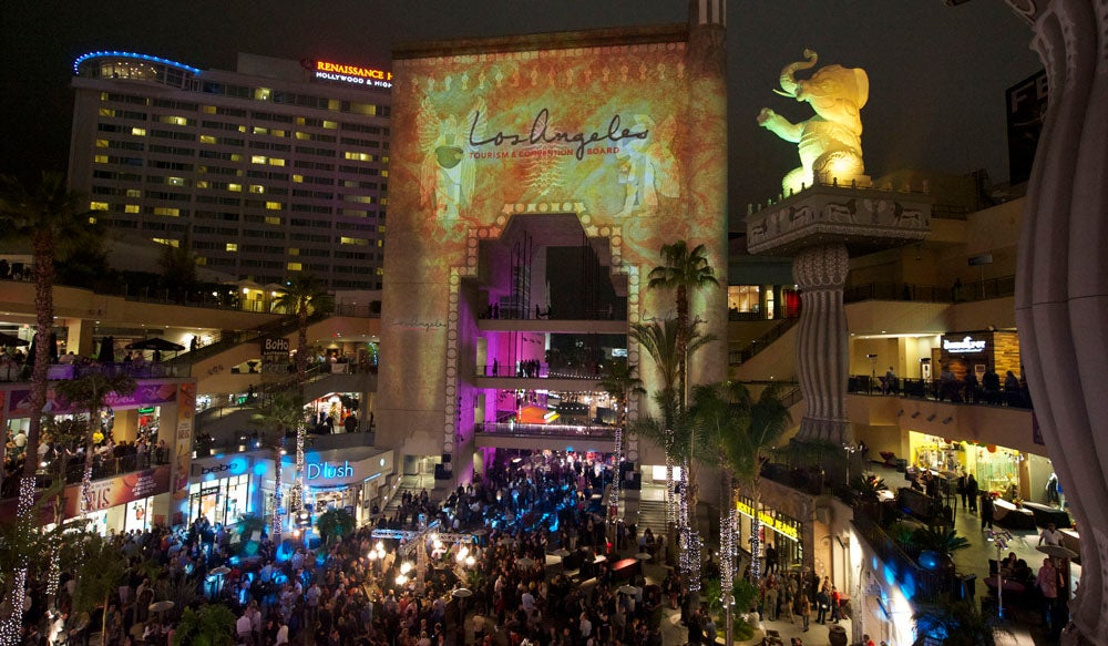 Hollywood and Highland Central Courtyard