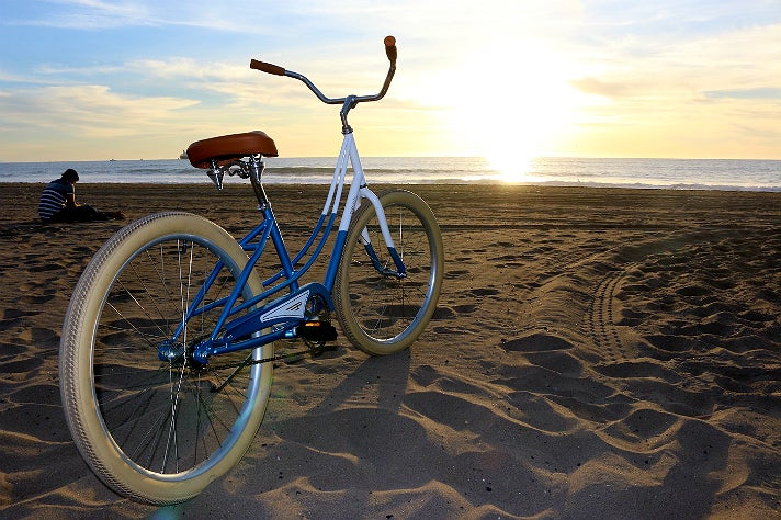 Beach Cruiser on California Beach