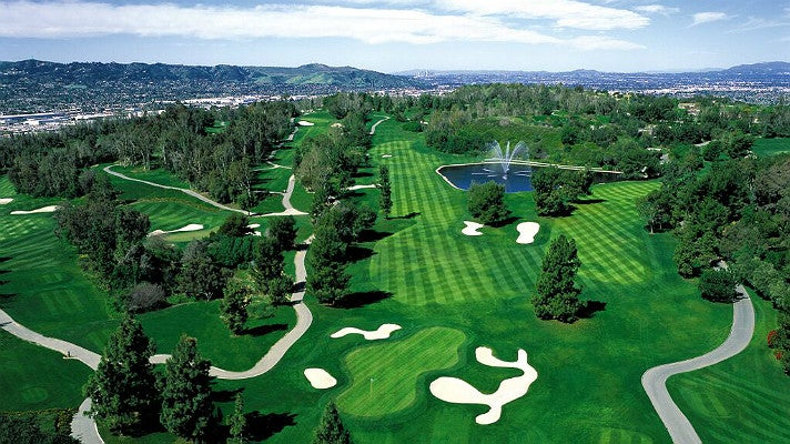 Aerial view of Industry Hills Golf Club